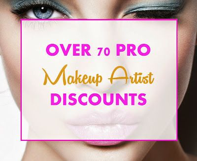 Becoming a Makeup Artist: Pro Makeup Artist Discount Programs