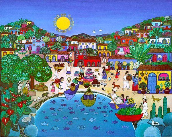 Beatriz Aurora (artista chilena), Día de mercado