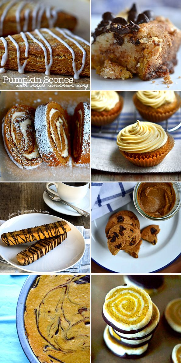 Click through for these 8 tested gluten free pumpkin recipes. Bake the best desserts of the season!