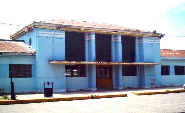 Estación ferroviaria de Constitución, monumento nacional de Chile.