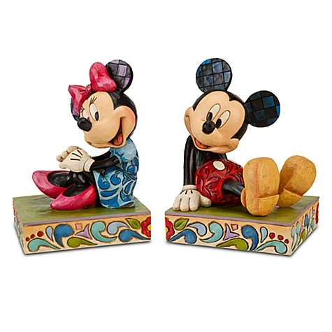 Minnie Mouse and Mickey Mouse Bookends by Jim ShoreMice, Disney Stores, Jim Shore, Mickey Mouse, Mouse Bookends, Minnie Bookends, Minnie Mouse, Home Decor, Collection