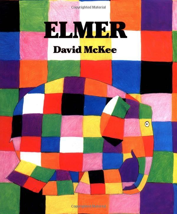 Elmer by David McKee: it's OK to be different.  #Kids #Books #David_McGee #Elmer