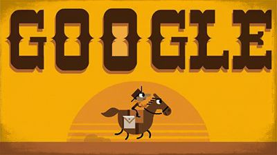 Take a virtual ride on the Pony Express with video-game 'Doodle'