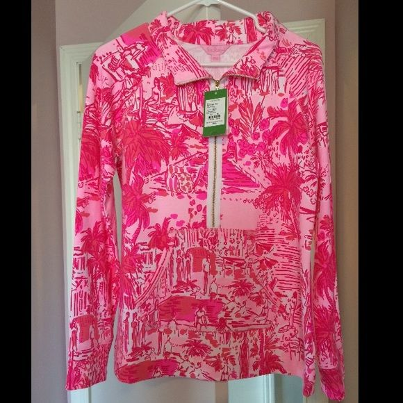 Lilly Pulitzer Rule Breakers Popover NWT, SOLD OUT print. Price Firm. Lilly Pulitzer Tops Sweatshirts & Hoodies