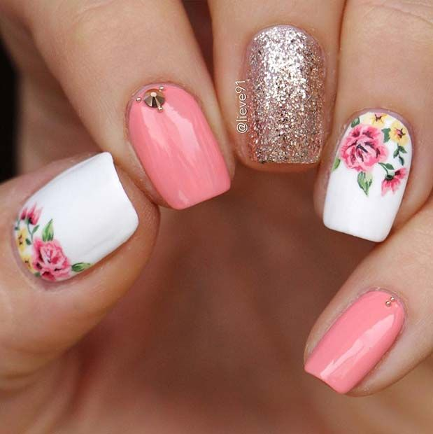 43 Best Spring Nail Art Designs To Copy In 2019 Uñas