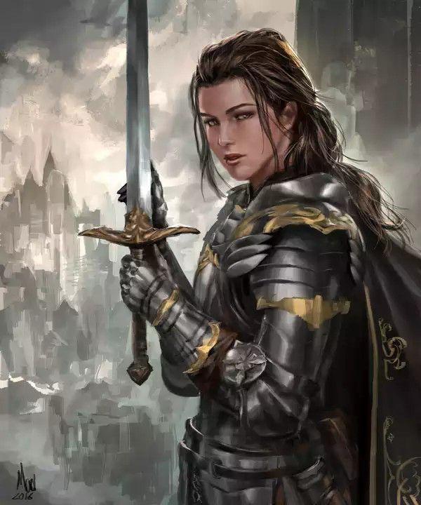 Human Female Warrior