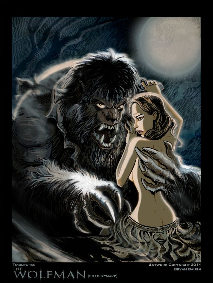 ✯ The Wolfman: 2010 Remake .. by *BryanBaugh*✯