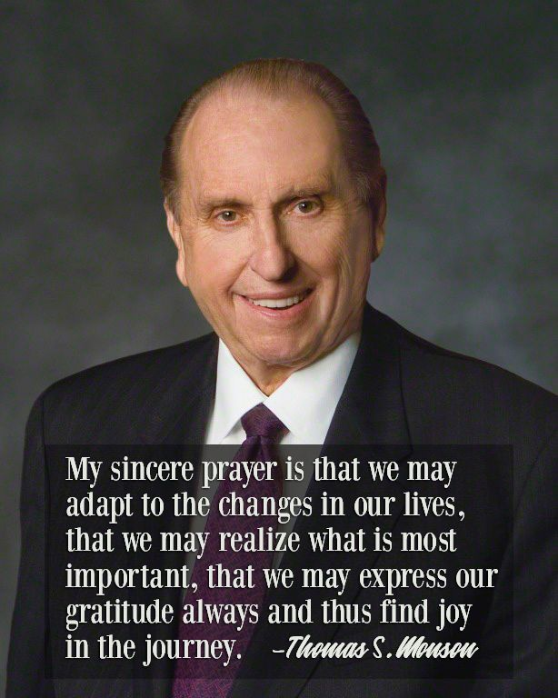 """This is our one and only chance at mortal life. The longer we live, the greater is our realization that it is brief. Opportunities come, and then they are gone. ... I plead with you not to let those most important things pass you by. ... Instead, find joy in the journey—now."" From #PresMonson's pinterest.com/pin/24066179228814793 inspiring #LDSconf facebook.com/223271487682878 message lds.org/general-conference/2008/10/finding-joy-in-the-journey #ShareGoodness"