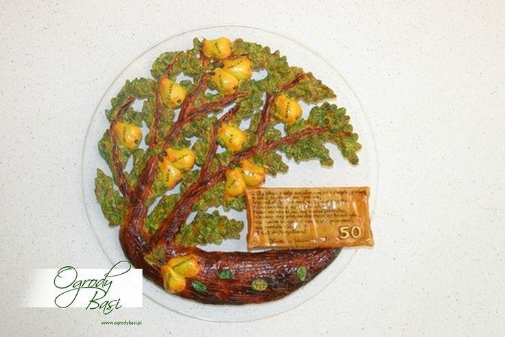 Drzewo genealogiczne gruszy w formie płaskorzeźby, prezent na rocznicę ślubu #25 #30 #40 #50 #60 #rocznica #ślub #jubileusz #urodziny #prezenty #gody www.ogrodybasi.pl