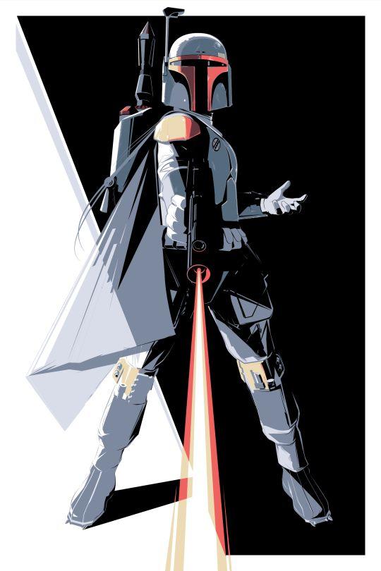 Star Wars - Boba Fett by Craig Drake