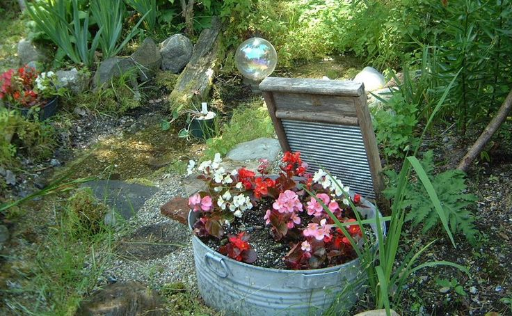 Exemplos de decoração de jardins
