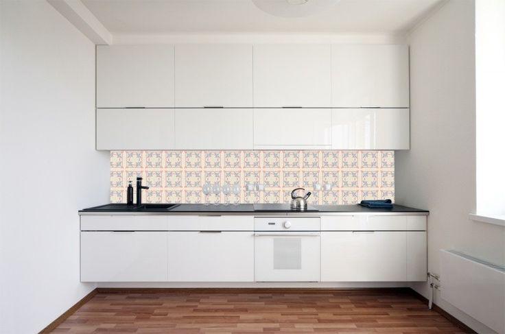 Achterwand keuken behang Kitchen Walls borduur http://www.funky-friday.com/wanddecoratie/behang/kitchen-walls-behang/kitchen-walls-behang-borduur.html