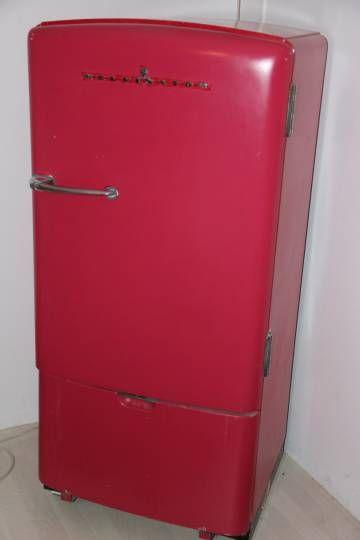 Refrigerateur frigo vintage kelvinator autour 1940 vintage - Cuisiner les restes du frigo ...
