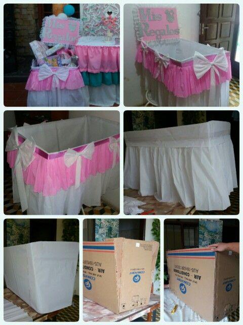 Como hacer Caja de regalos para baby shower