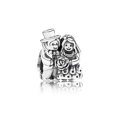 http://mitchumjewelers.com/fine-jewelry/pandora-jewelry-springfield-mo - Remember that special day...every day with this beautiful Mr. & Mrs. charm in sterling silver. $40