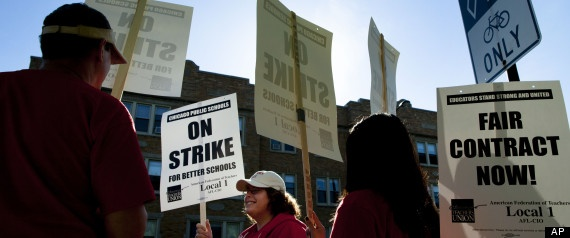 Teachers' Strike In Chicago Hits Poor Students Hardest | Huff Post Education