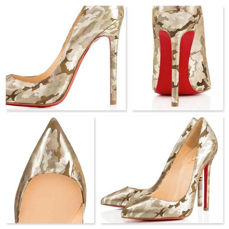 Camouflage Christian Louboutins, Would you wear them?