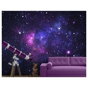 Outer space bedrooms decorate solar system bedrooms for Outer space decor