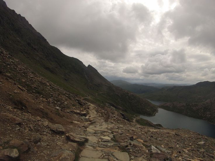 Pyg Track on Mount Snowdon - North Wales. Taken on a GoPro Hero3 Silver during this years mountain climbing!