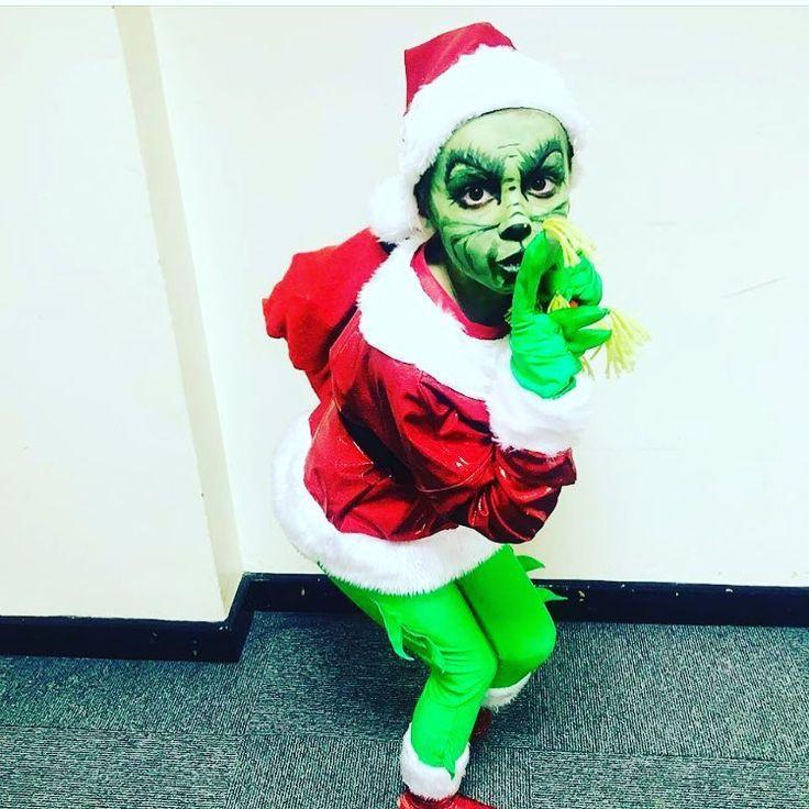 Grinch Kostüm selber machen » Für Weihnachten & Halloween ...