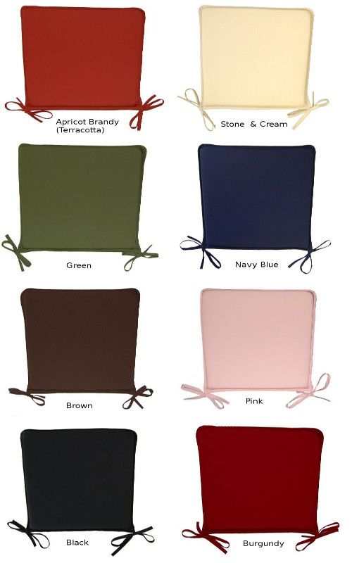 Wonderful Dining Room Chair Cushions With Ties
