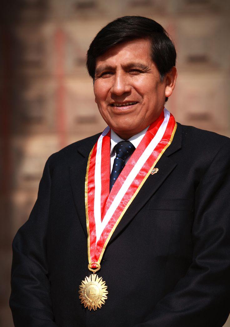 Dr. Germán Yabar Pilco, Vicerrector Académico de la Universidad Nacional del Altiplano Gestión 2010-2015  Foto: Marzo 2014
