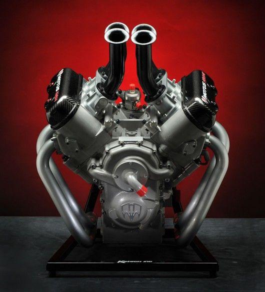 Motus MV4 Baby Block engine