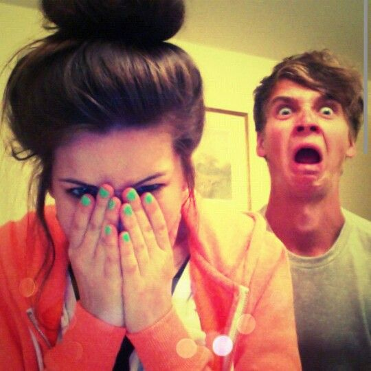 Zoe and Joe! Joes face!!!