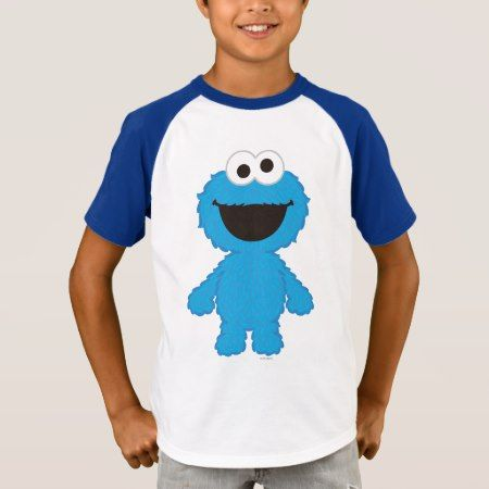 Cookie Monster Wool Style T-Shirt - click/tap to personalize and buy