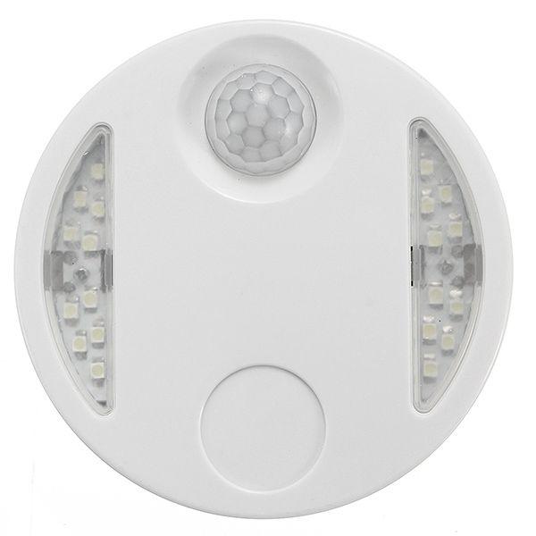 Wireless PIR Motion Light Sensor LED Night Lamp For Home Outdoor Hallway 220V