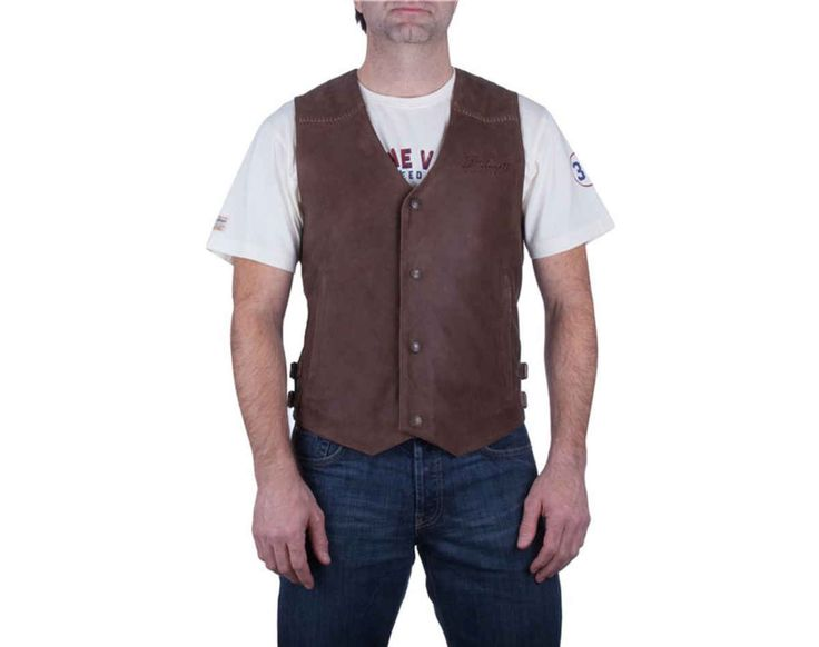 MEN'S INDIAN MOTORCYCLE LEATHER VEST | Motorcycle Cruiser