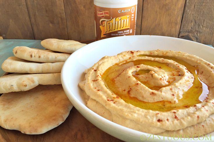 Cajun Hummus from Zestuous