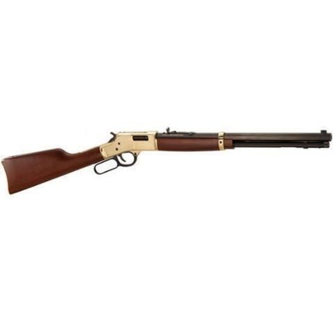 """Henry Repeating Arms Big Boy Model Lever Action Rifle .45 Long Colt 20"""" Octagonal Barrel 10 Rounds Walnut Stock Top Brass Receiver Polished Finish H006C - 619835060006"""