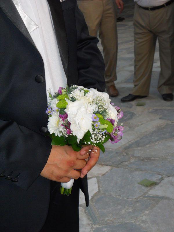 Μπουκέτο με λουλούδια εποχής