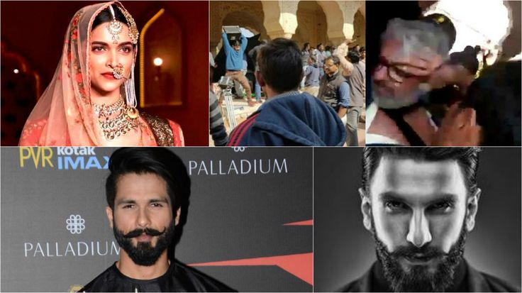Padmavati stars Deepika, Ranveer & Shahid break their silence on Sanjay Leela Bhansali's assault