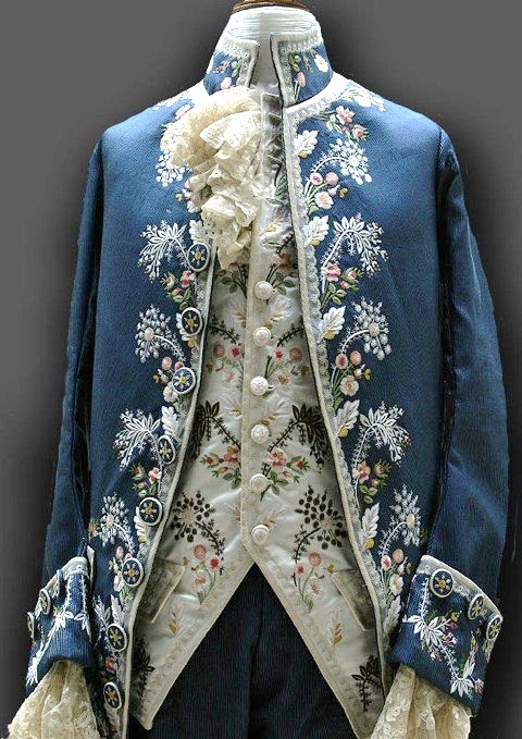 Embroided Noble's Coat - Inspiration King of Frost