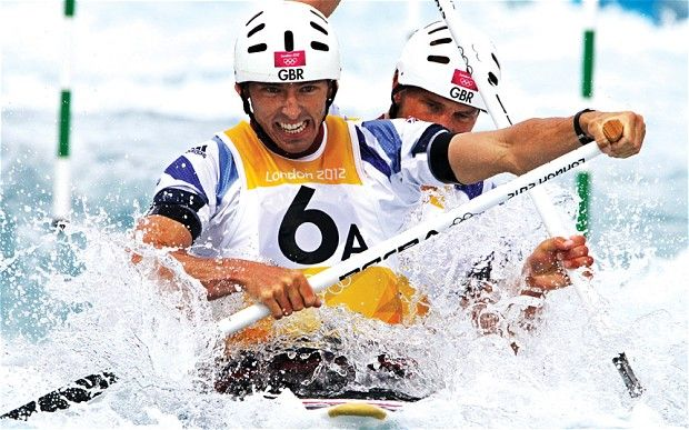 Daily Telegraph profile of David Florence, Olympic silver medallist and Nottingham graduate.