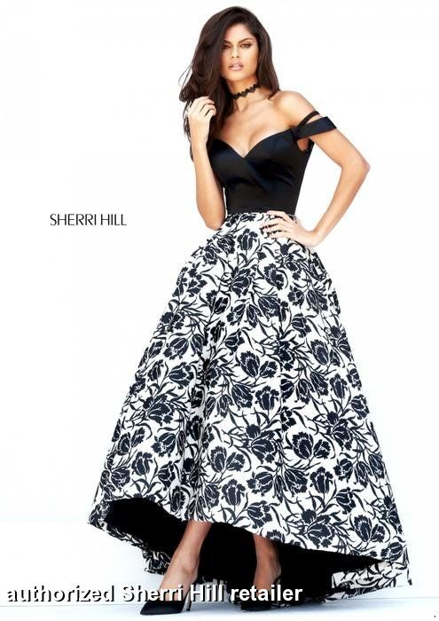 Sherri Hill Prom and Homecoming Dresses Sherri Hill 50714 Sherri Hill One Enchanted Evening - Designer Bridal, Pageant, Prom, Evening & Homecoming Gowns