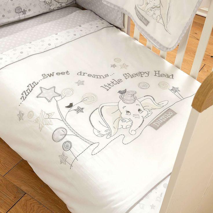 Disney Dumbo Nursery Cot Duvet Cover Set | Dunelm