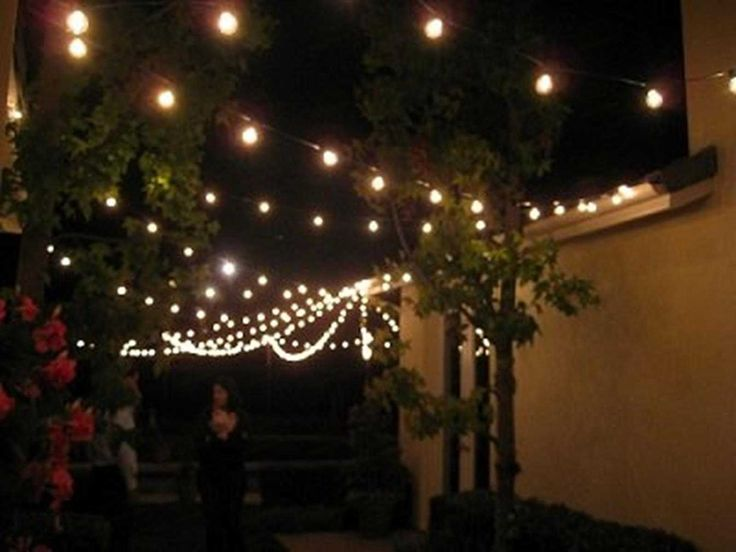 Delightful Clear Outdoor Globe Patio String Lights And Lengths)
