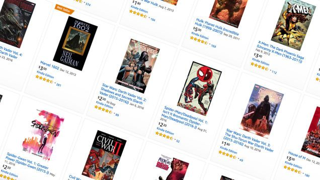 Amazon Just Discounted Basically Every Marvel Digital Comic To a Few Bucks Each For Some Reason