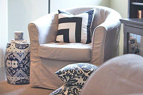 IKEA Armchair Covers - Beautiful Custom Slipcovers | Comfort Works