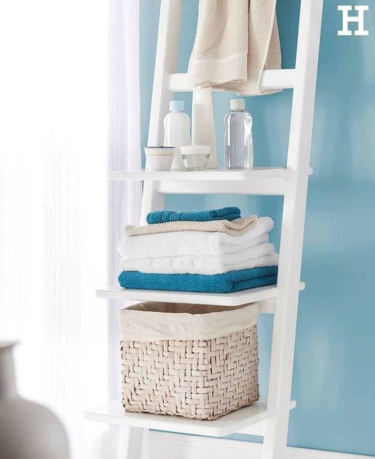 die besten 25 handtuchleiter ideen auf pinterest leiterhandtuchhalter handtuchst nder und. Black Bedroom Furniture Sets. Home Design Ideas