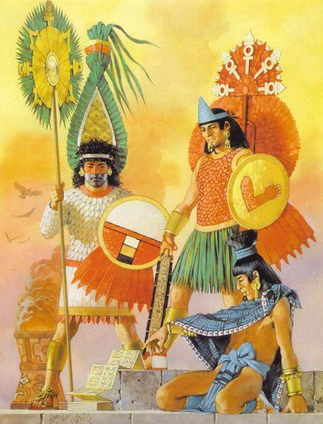 Mexicas, Angus McBride