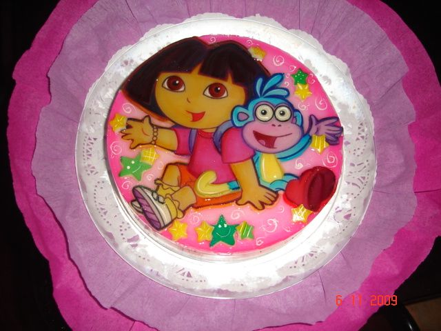 Gelatina de Dora la Exploradora