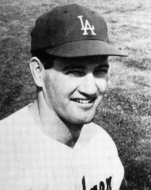 Dick Nen played in a total of seven games for the Dodgers during the 1963 season, but hit a crucial home run on September 18th against the Cardinals to extend the Dodgers lead to four games in the standings on their way to the NL Pennant.