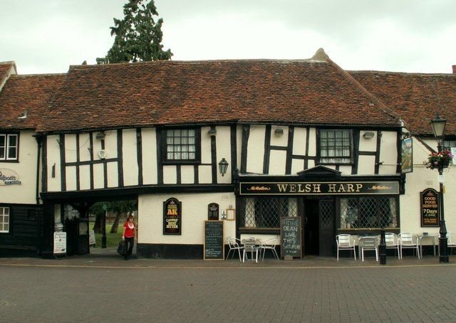 The 'Welsh Harp' inn, Market Square, Waltham Abbey by Robert Edwards, via Geograph