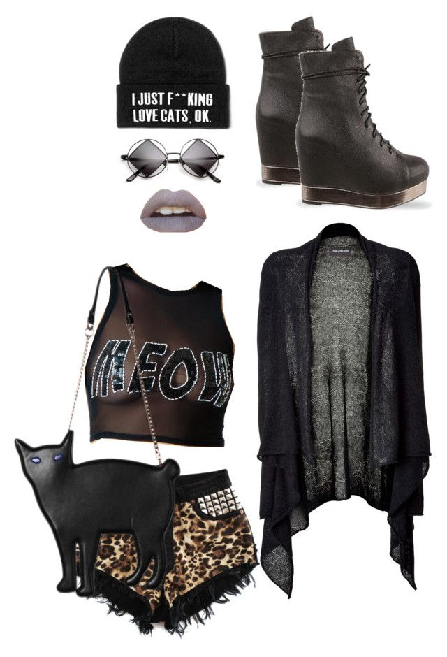 """""""Cat lover"""" by postpunkfaery on Polyvore"""