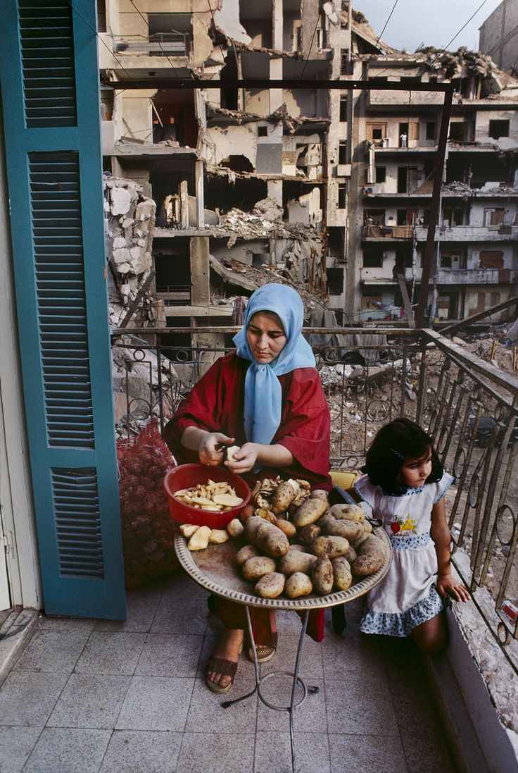 "hopeful-melancholy: "" Beirut, Lebanon. Taken by Steve McCurry """