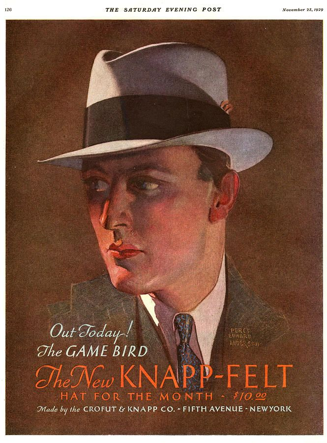 Knapp-felt hats, 1930s